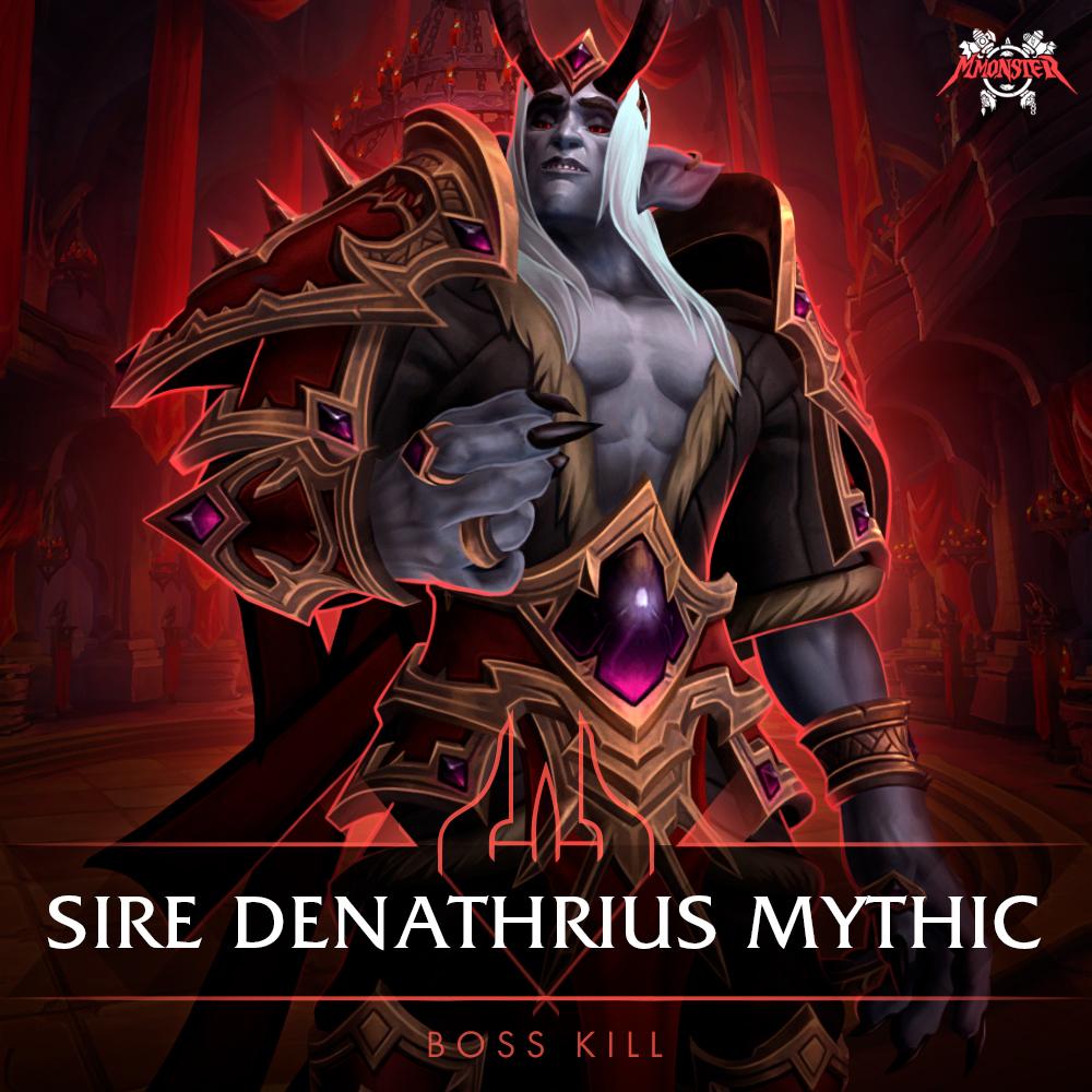 sire denathrius mythic kill boost