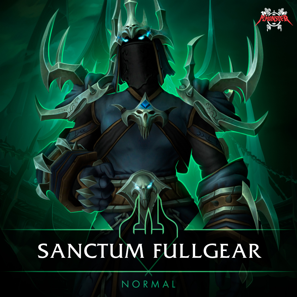 Sanctum of Domination Normal Full Gear Boost Base