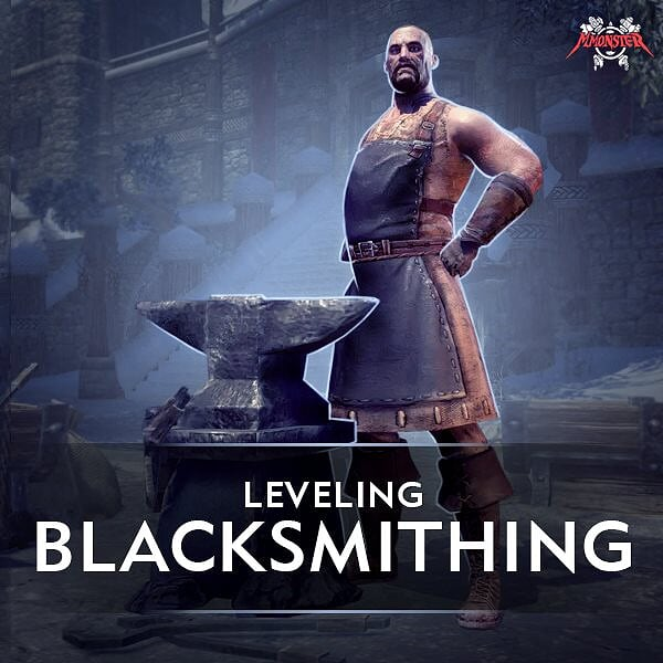 ESO Blacksmithing Leveling
