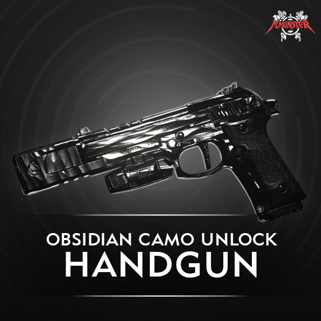 CoD MW Handgun Obsidian Camo Unlock Boost