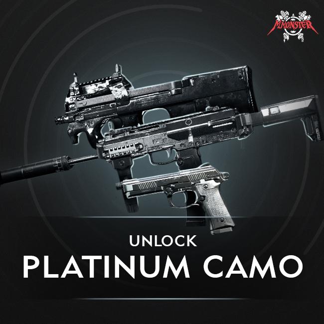 CoD MW Platinum Camo Unlock Boost Base [id:14631]