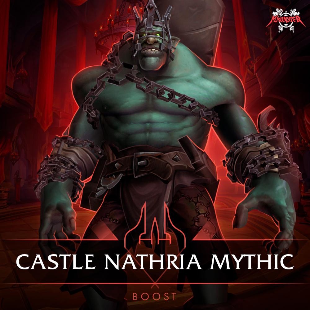 castle nathria mythic loot raid boost run