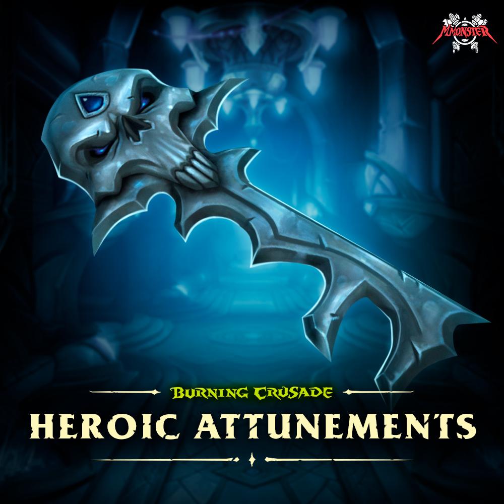 WoW Burning Crusade Classic Heroic Dungeon Attunements