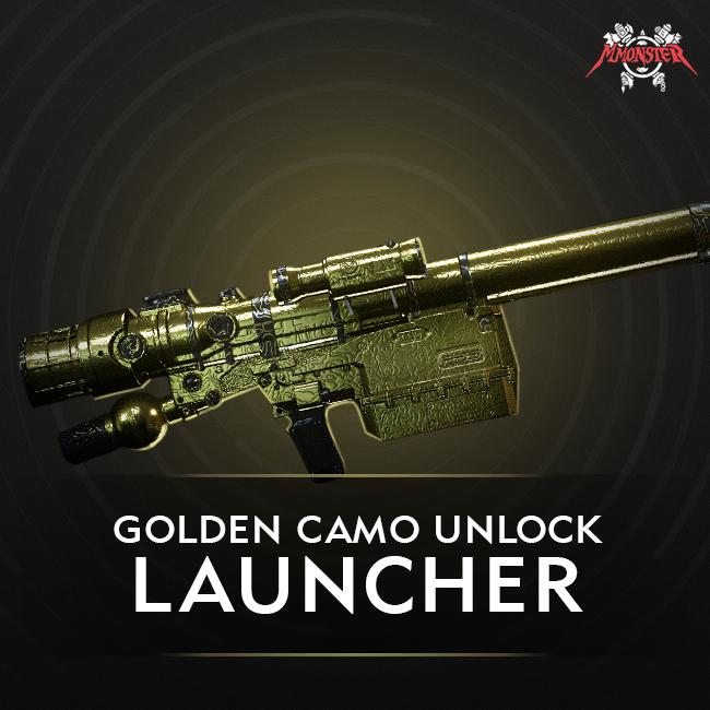 CoD MW Launcher Gold Camo Unlock Boost