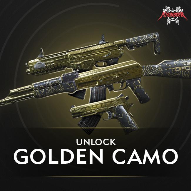 CoD MW Gold Camo Unlock Boost