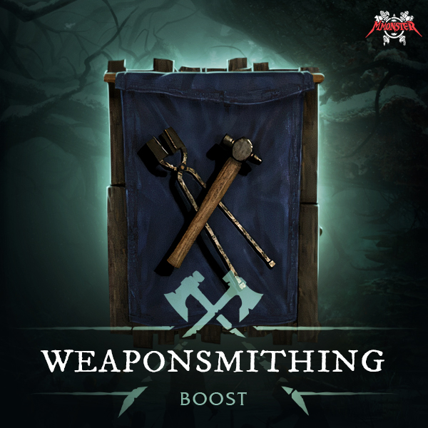 New World Weaponsmithing Power Leveling Crafting Skill Profession Boost