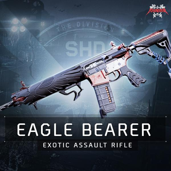 Eagle Bearer Exotic Assault Rifle Weapon Farm Boost