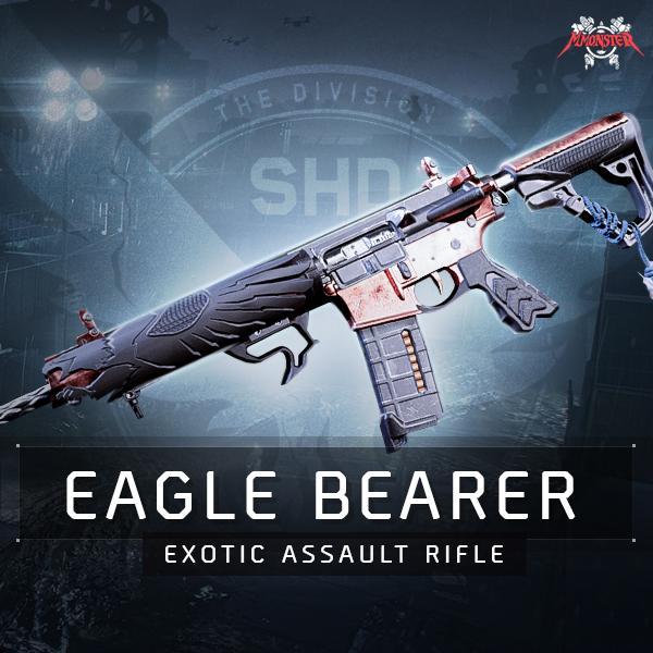 Eagle Bearer Exotic Assault Rifle Weapon Farm Boost [id:21549]