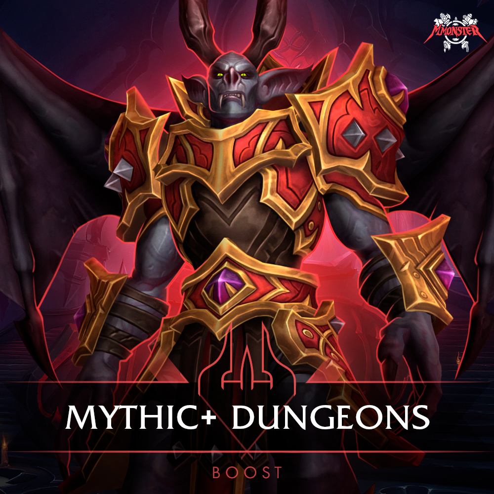 shadowlands mythic+ plus dungeons season 1 boost