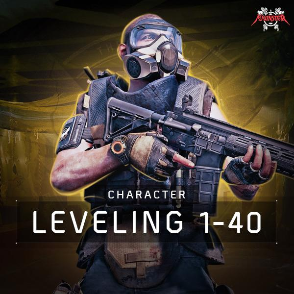 1-40 Character Leveling Boost