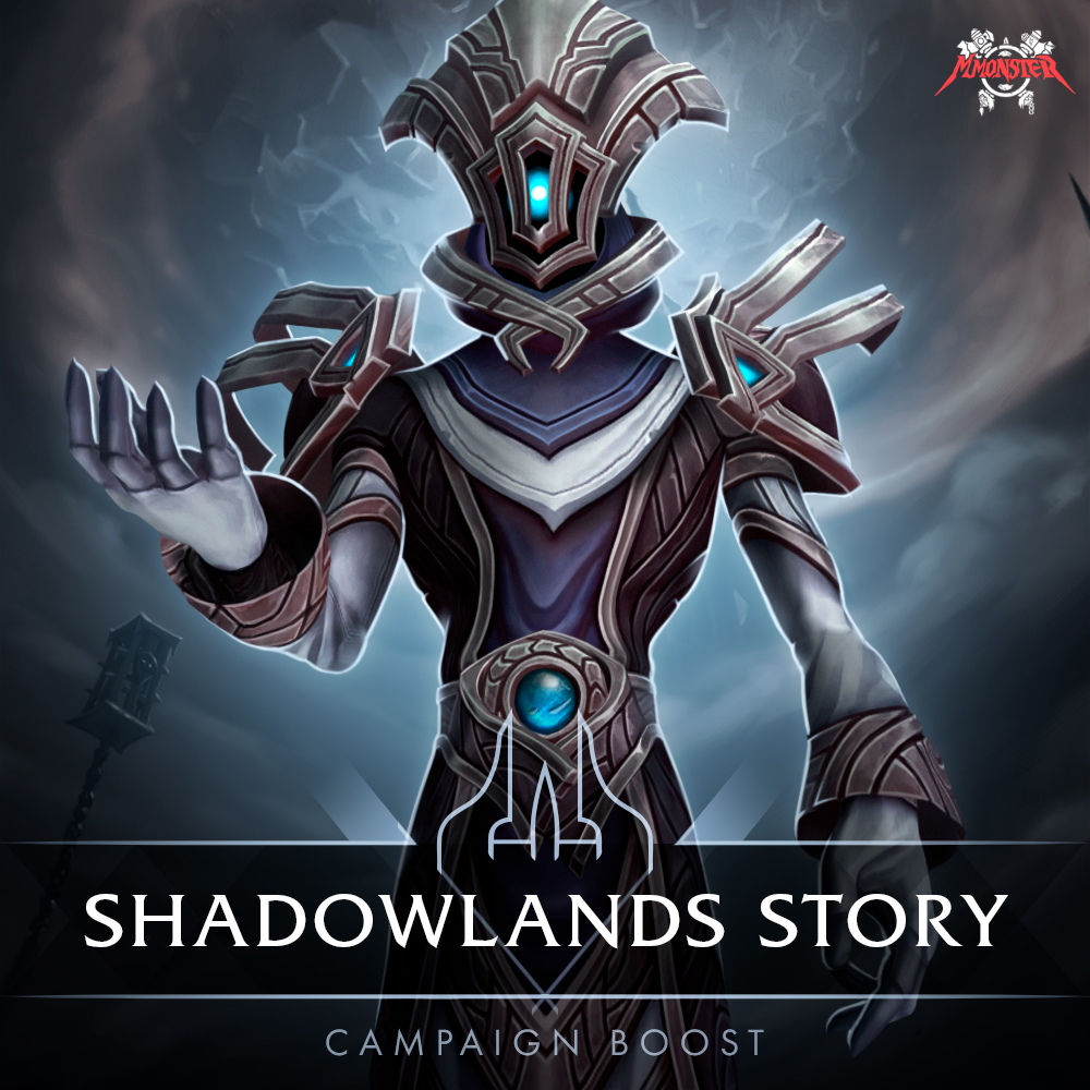 shadowlands main storyline campaign boost