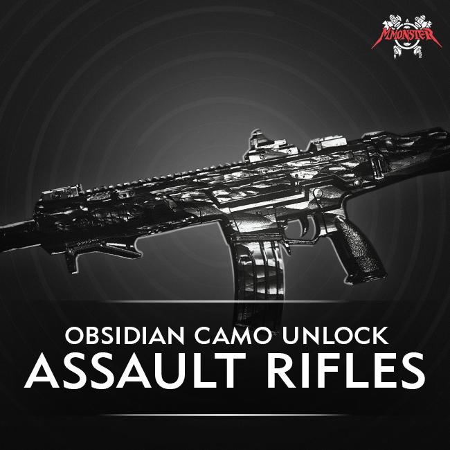 CoD MW Assault Rifle Obsidian Camo Unlock Boost