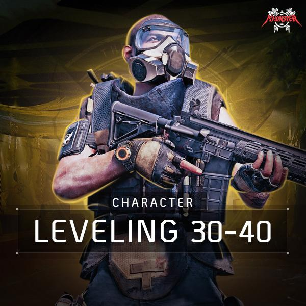 30-40 Character Leveling Boost