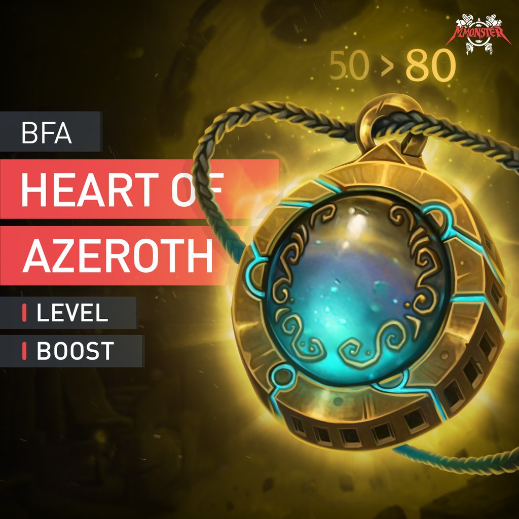 Heart of Azeroth Leveling Boost