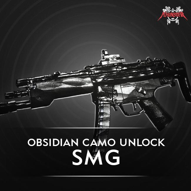 CoD MW SMG Obsidian Camo Unlock Boost