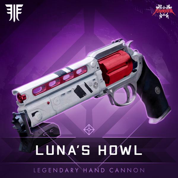 LUNA'S HOWL Legendary Hand Cannon