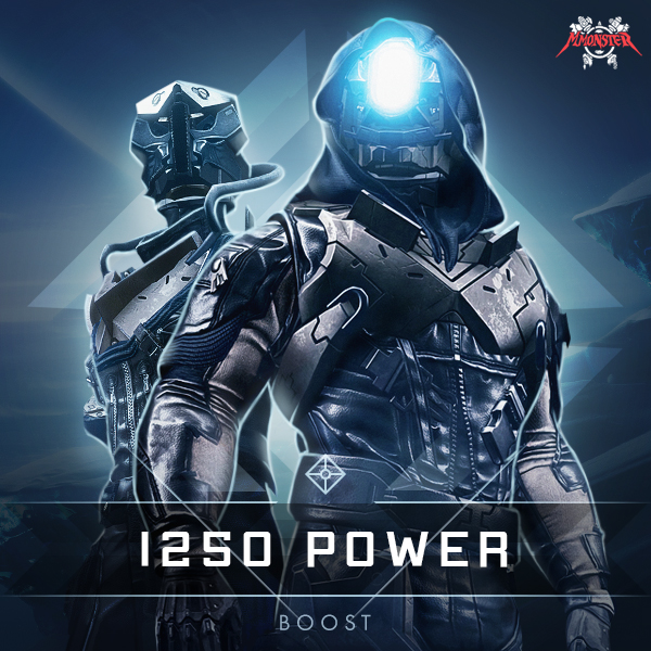 Destiny 2 1250 Power Level Boost