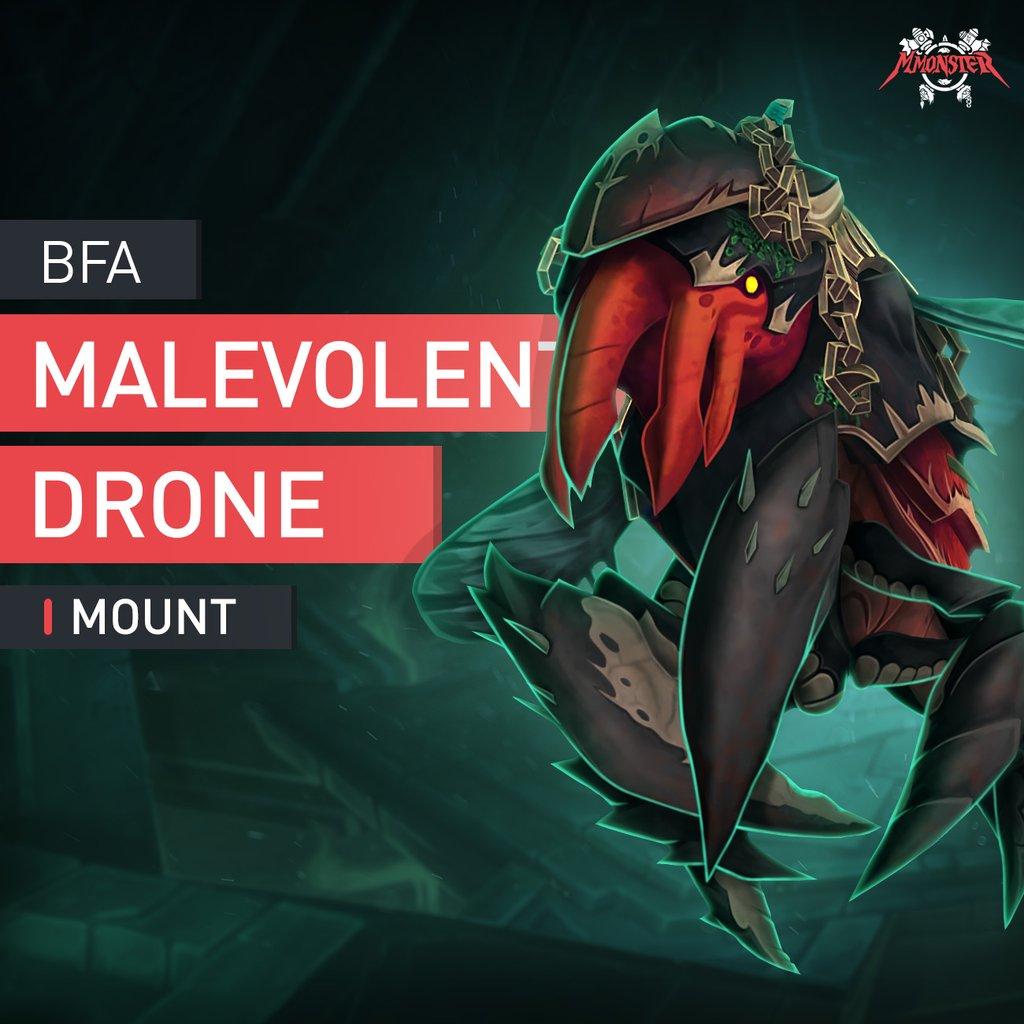 Malevolent Drone Mount