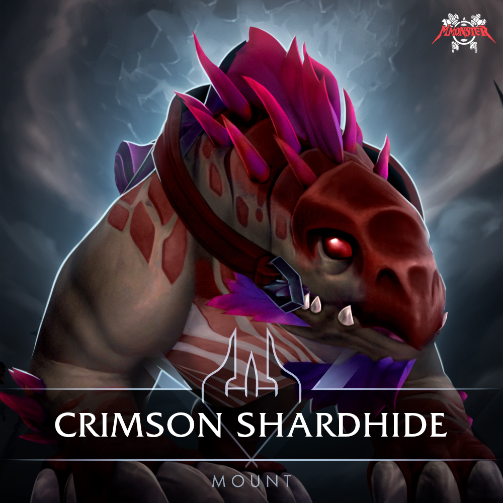 Crimson Shardhide Mount Farm Boost