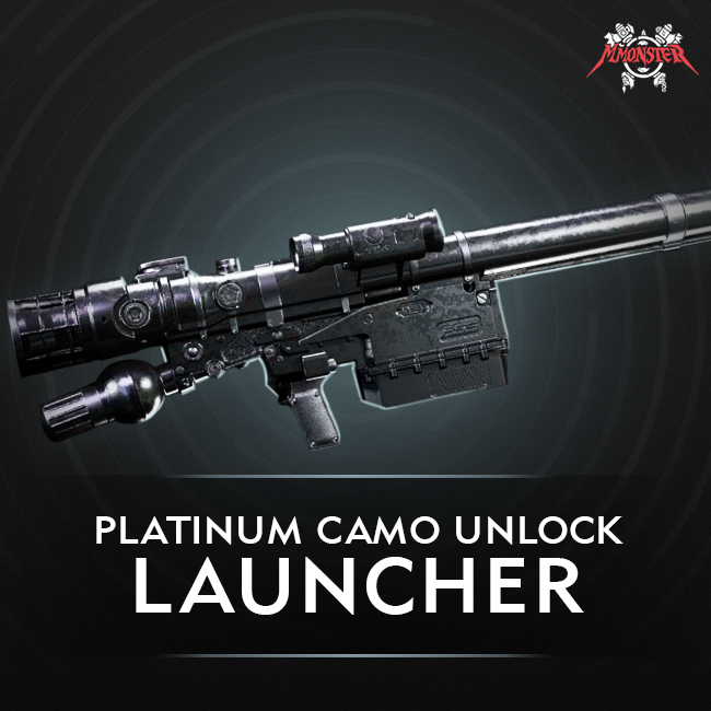 CoD MW Launcher Platinum Camo Unlock Boost