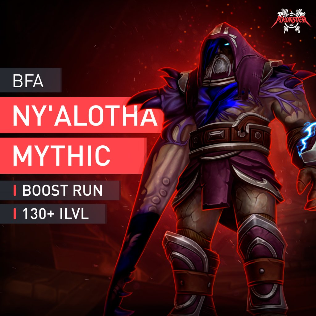 Ny'alotha, the Waking City Mythic Boost - MmonsteR