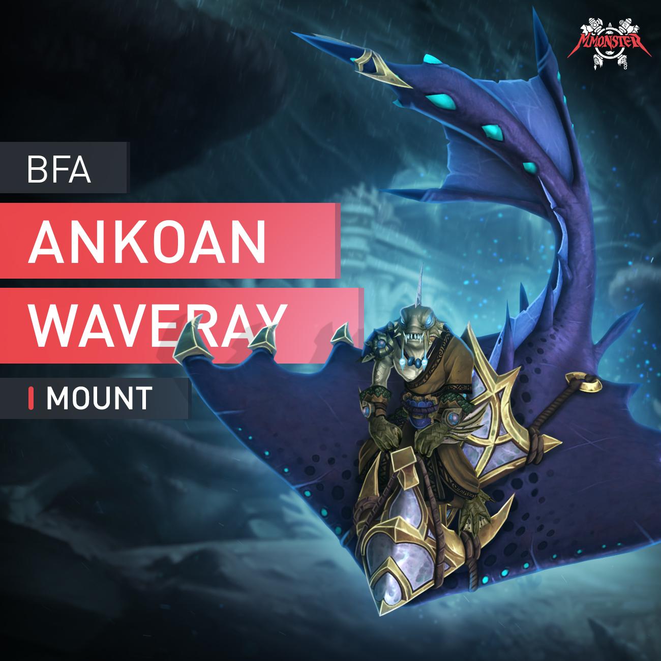 Ankoan Waveray Mount