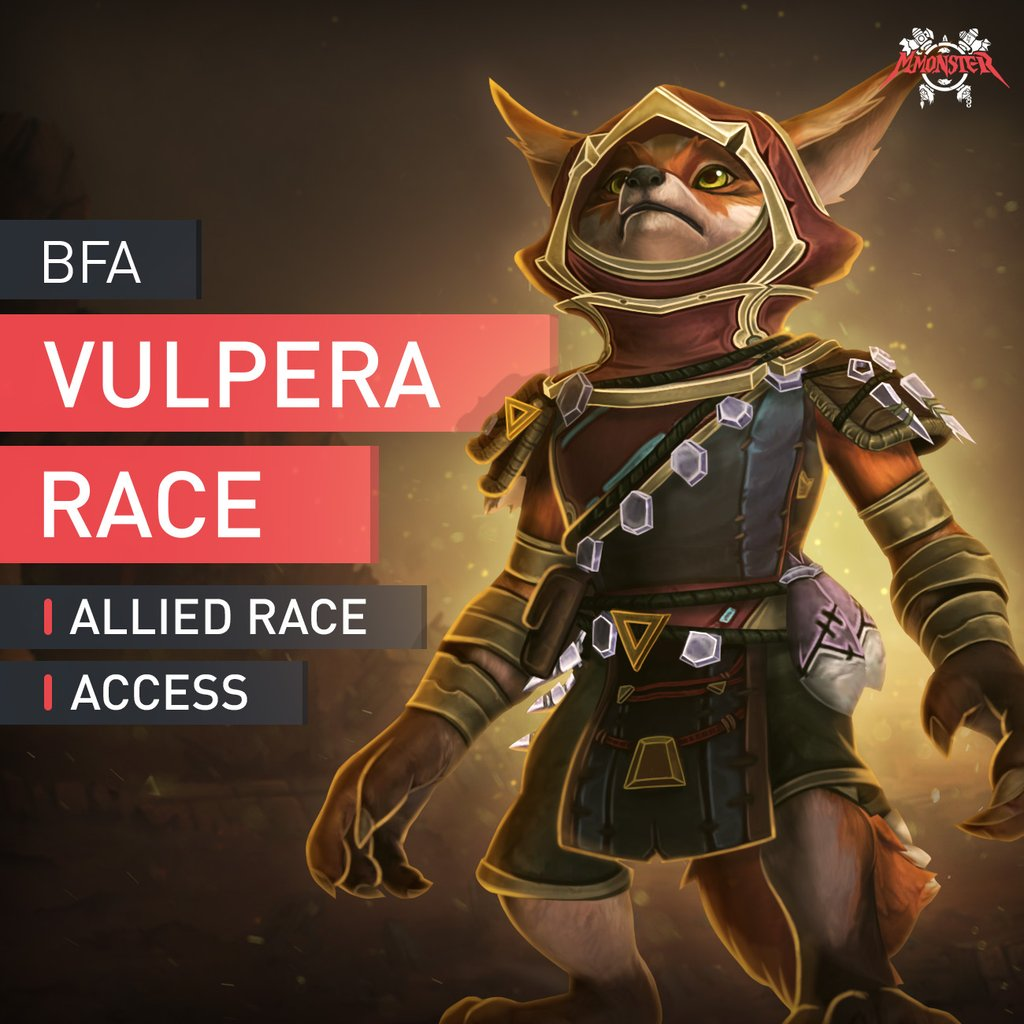 Vulpera Allied Race Unlock Boost