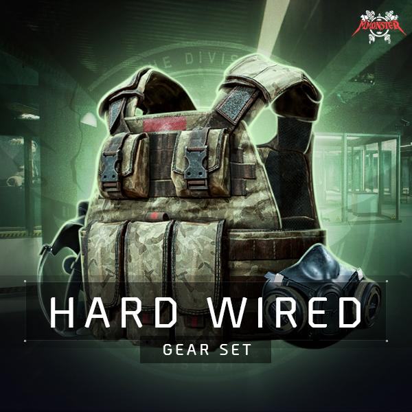 Hard Wired Gear Set Farm Boost
