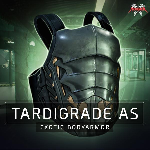 Tardigarde Armor System Exotic Body Armor Farm Boost
