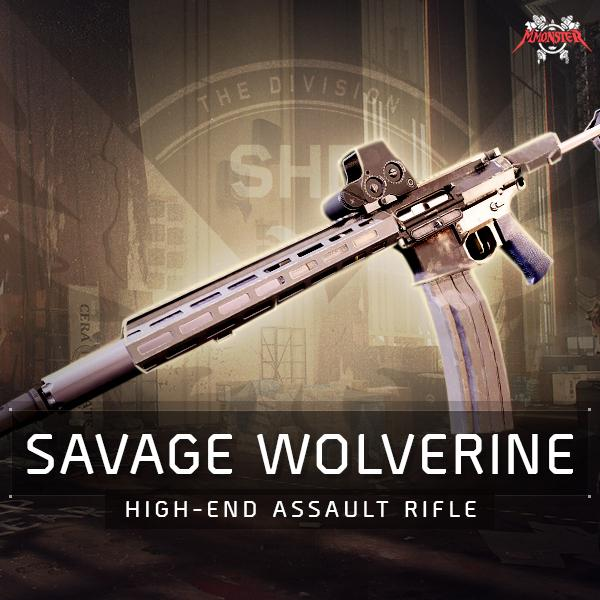 Savage Wolverine Named Assault Rifle Farm Boost