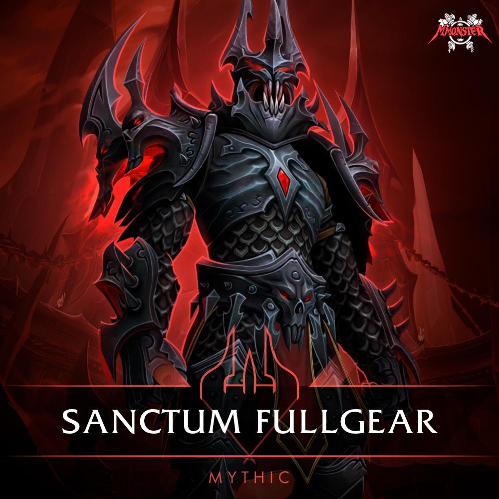 Sanctum of Domination Mythic Full Gear Boost Base