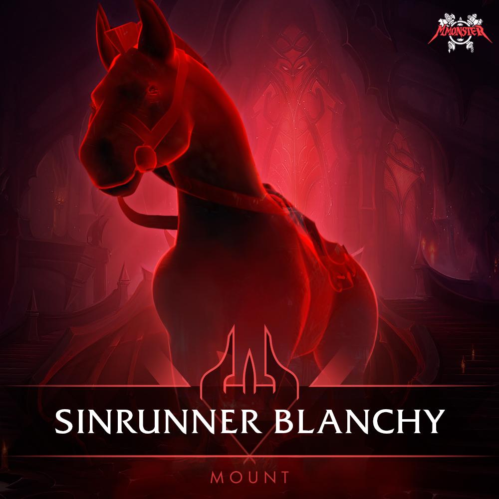 Sinrunner Blanchy Mount Farm Boost