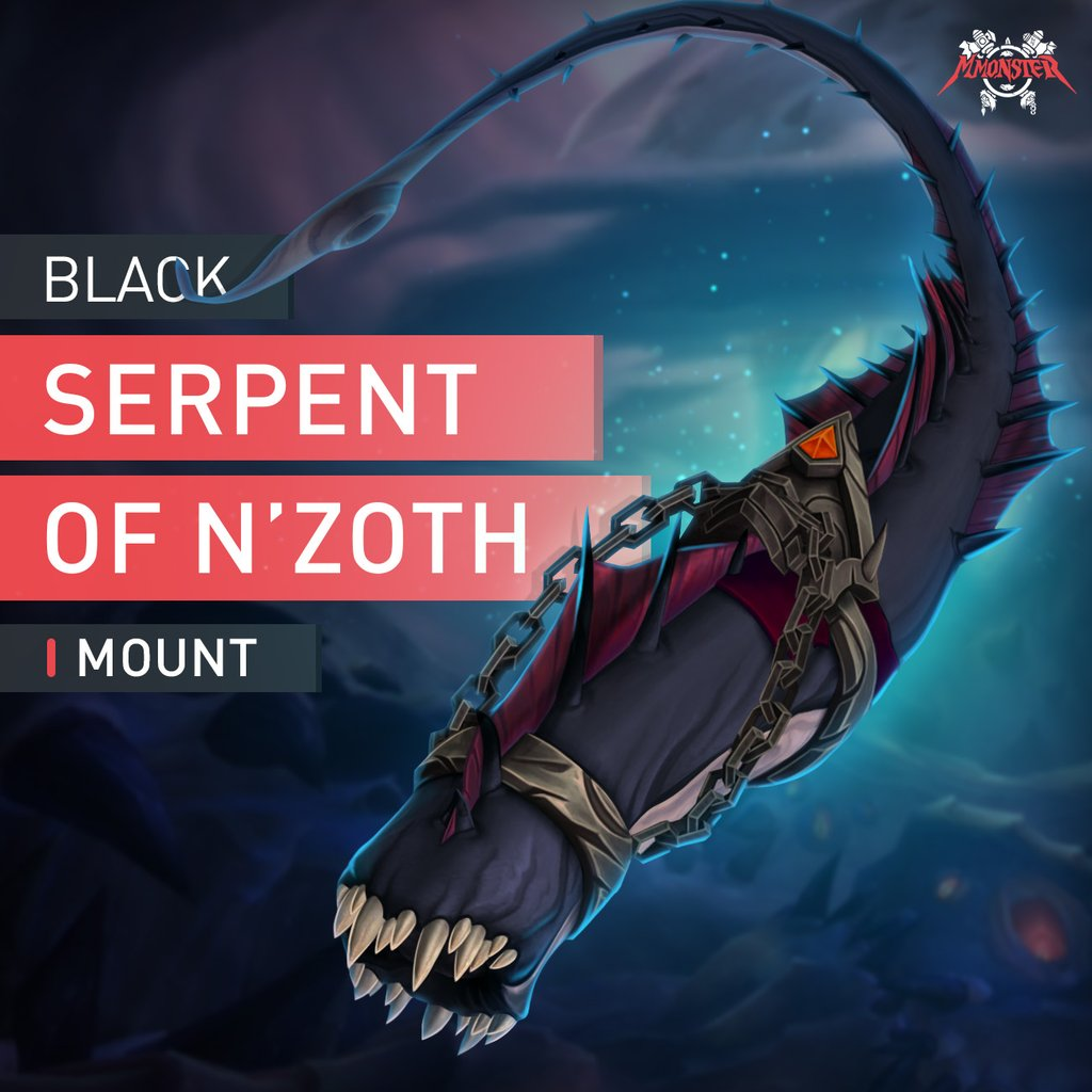 Black Serpent of N'Zoth Mount