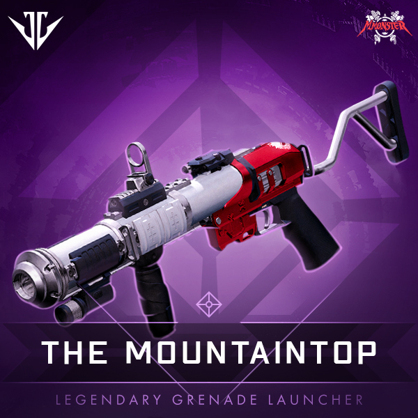 THE MOUNTAINTOP Legendary Grenade Launcher