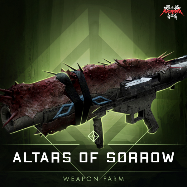 Altars of Sorrow Weapon farm