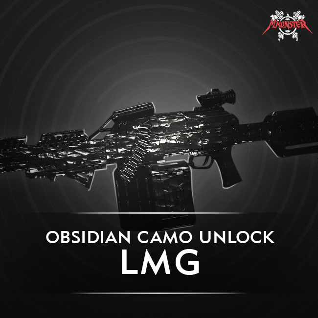 CoD MW LMG Obsidian Camo Unlock Boost