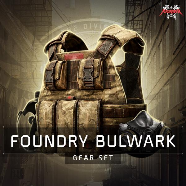 Foundry Bulwark Gear Set Farm Boost