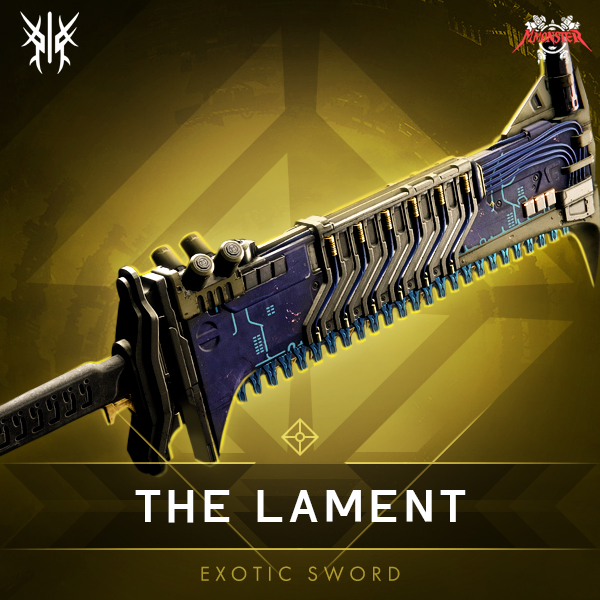 The Lament Exotic Sword