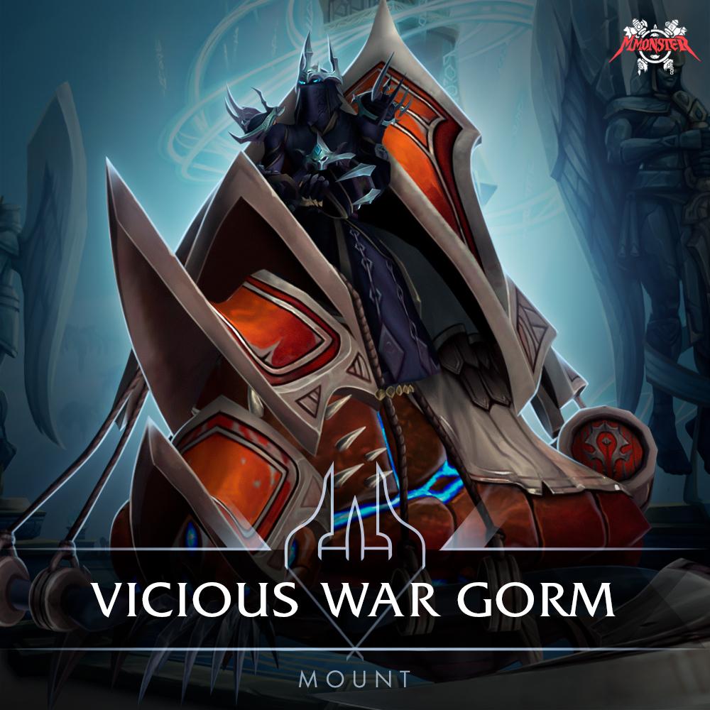Vicious War Gorm (PvP Season 2 Mount)