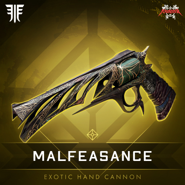 MALFEASANCE Exotic Hand Cannon
