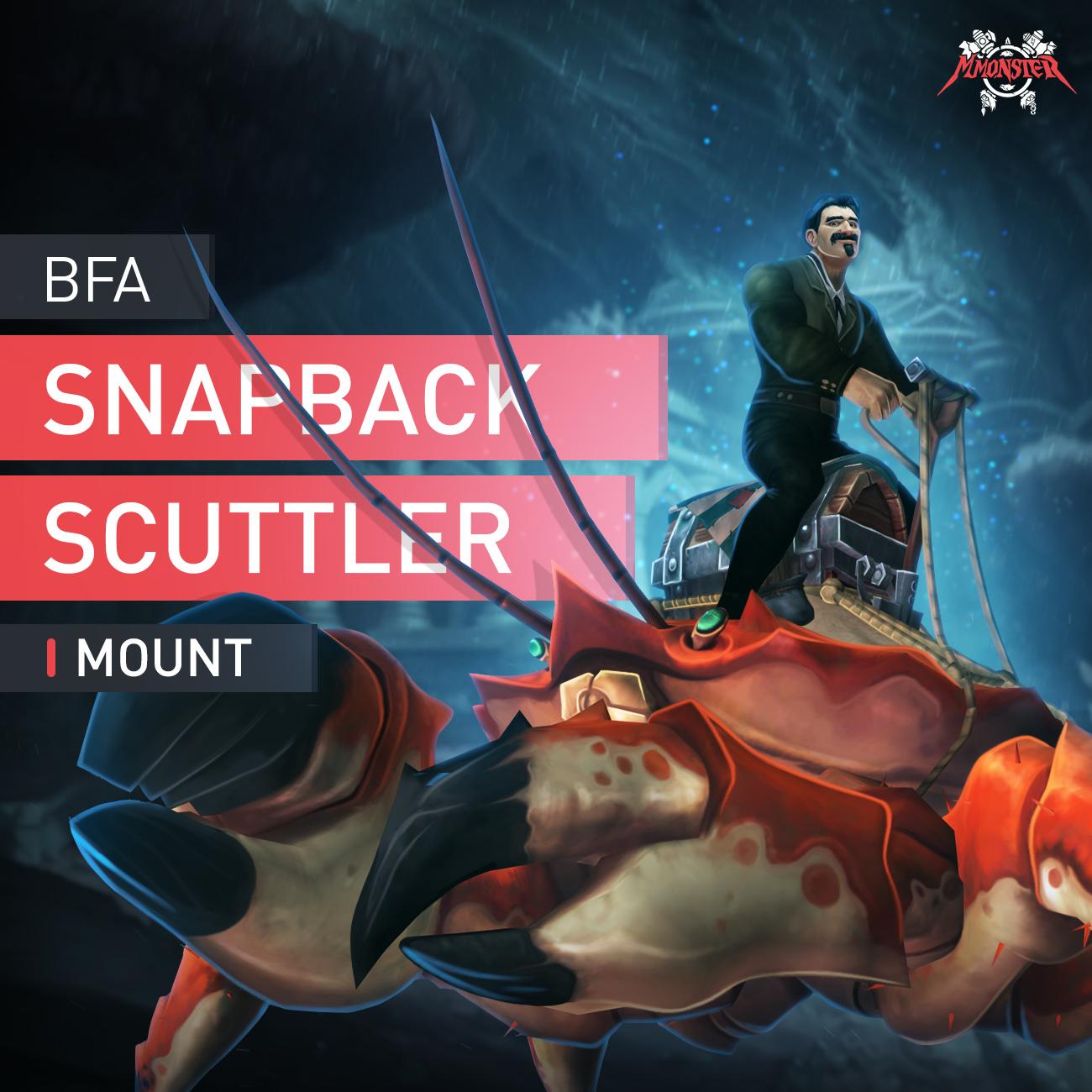 Snapback Scuttler Mount