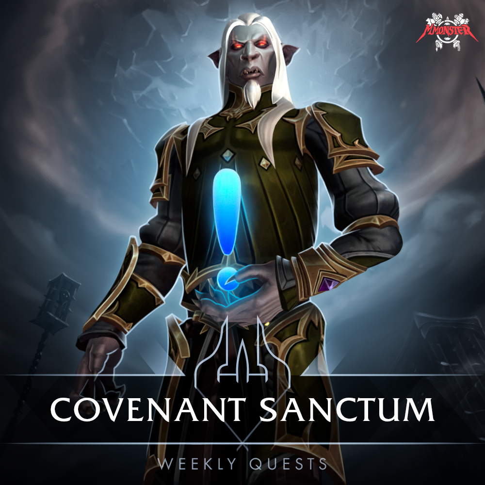 covenant sanctum renown cap weelky quests