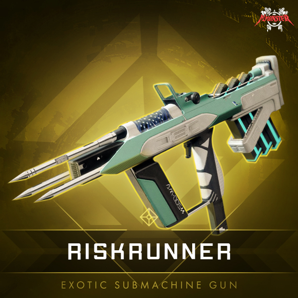 Destiny 2 Riskrunner Exotic Submachine Gun With Catalyst