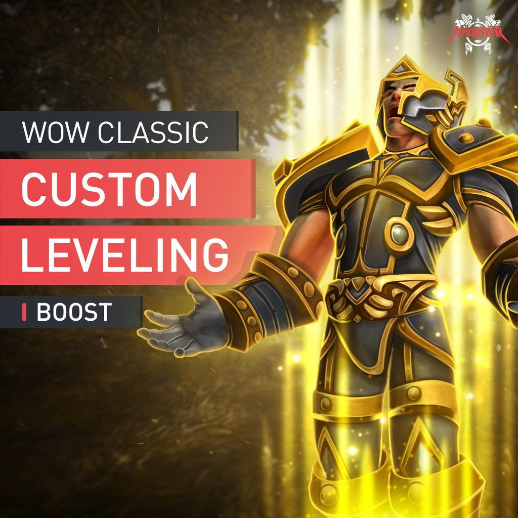 WoW Classic Custom Leveling Boost - MmonsteR