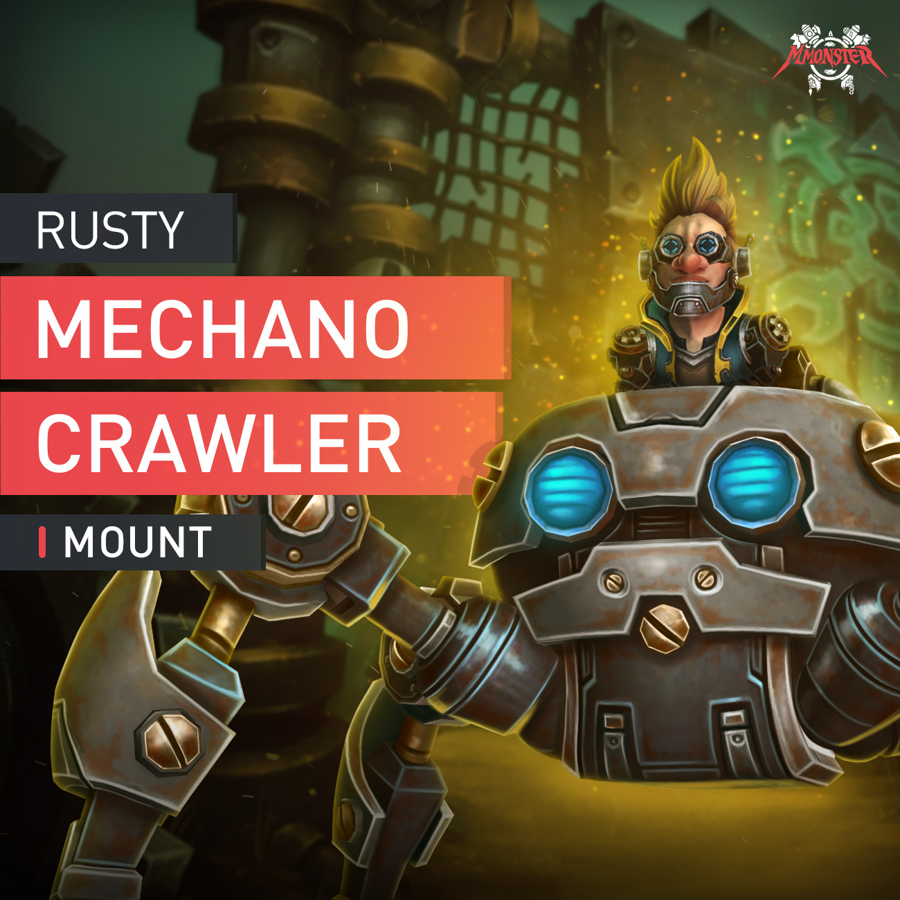 Rusty Mechanocrawler Mount