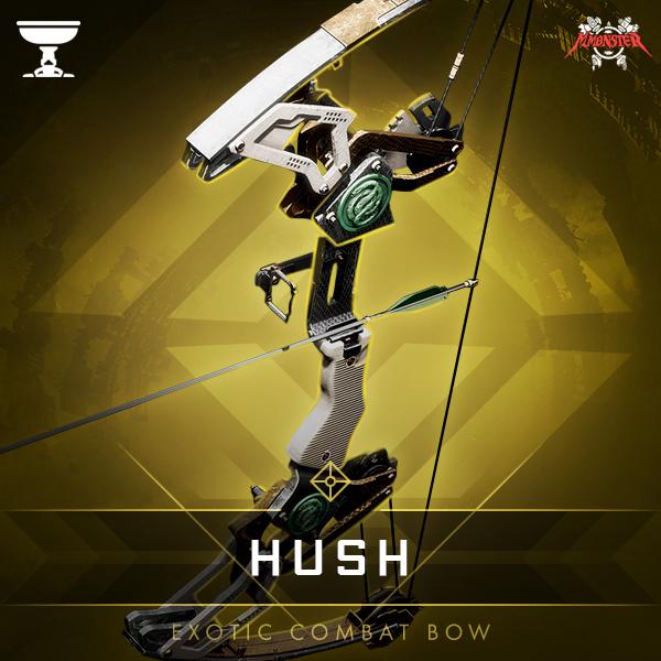 HUSH Legendary Combat Bow