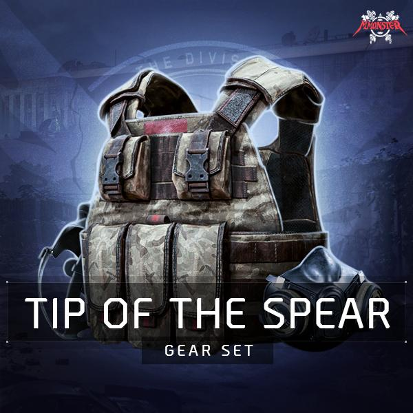 Tip of the Spear Gear Set Farm Boost