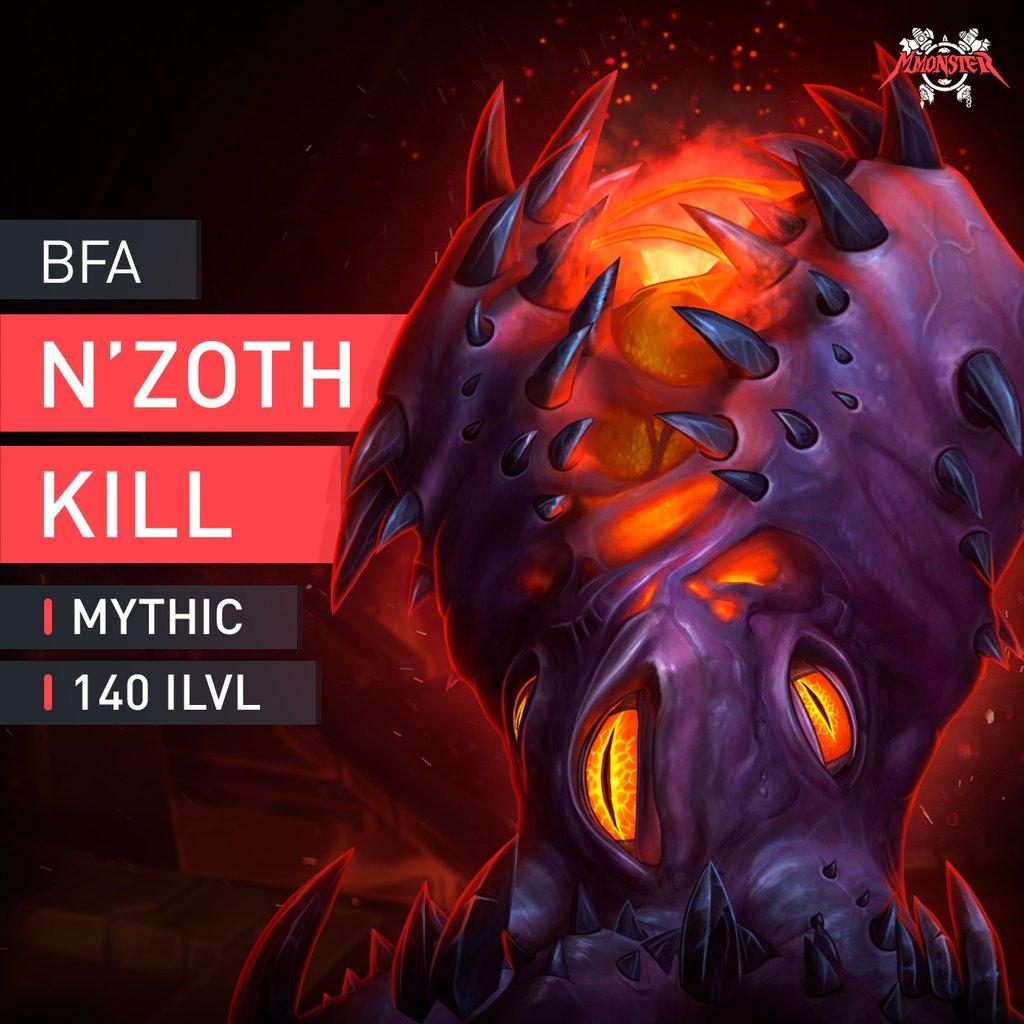 N'Zoth the Corruptor Mythic Kill Boost