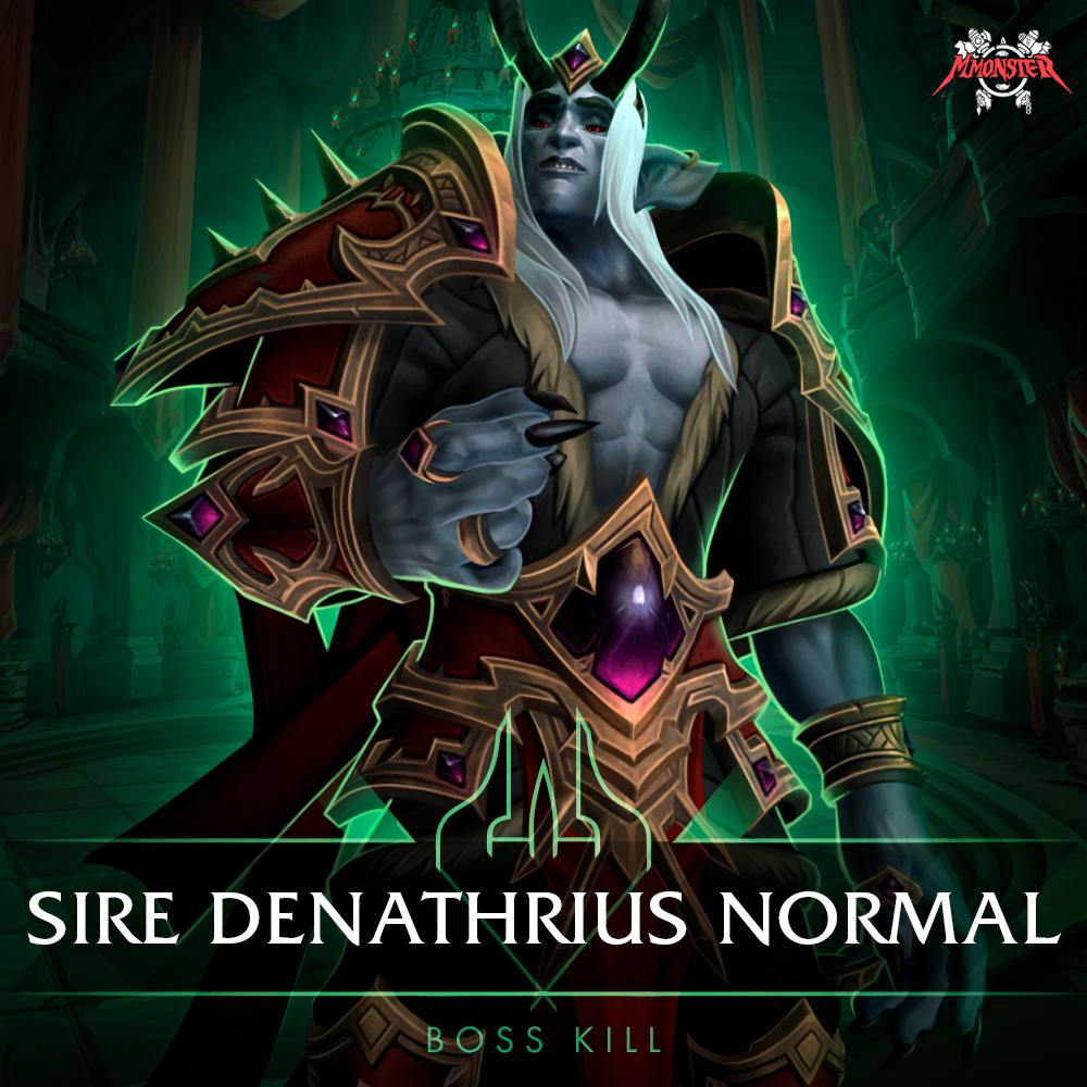 Sire Denathrius Normal Kill Boost