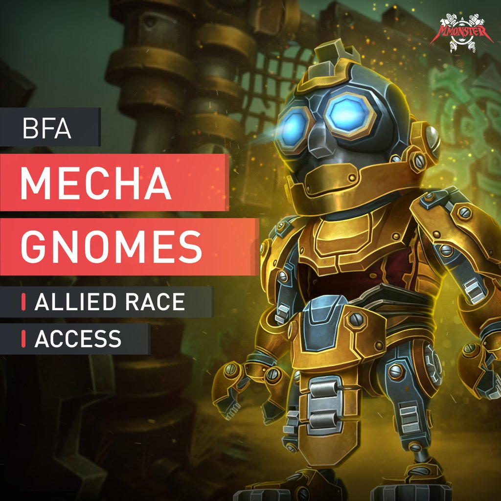 Mechagnome Allied Race Unlock Boost